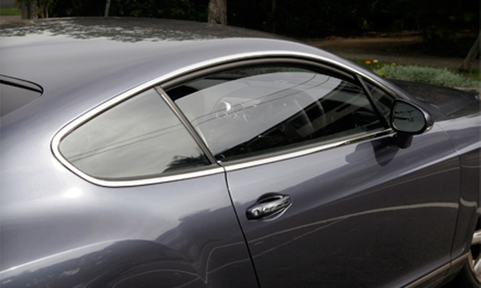 Above and Beyond Auto Glass - Albuquerque: Window Tinting for Two or Five Automobile Windows at A Above and Beyond Auto Glass (Up to 52% Off)