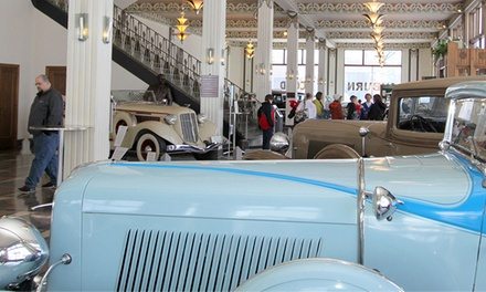 Auburn Cord Duesenberg Automobile Museum Admission for Two or Four (Up to 50% Off)