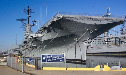 Visit for Two or Four to the USS Hornet Museum (50% Off)