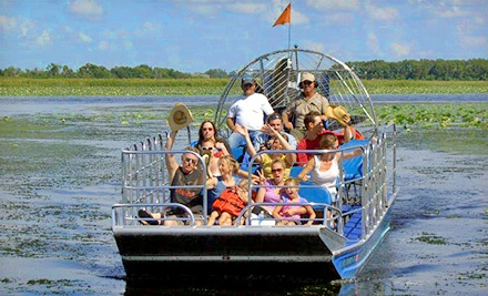 Airboat Tour of Florida Everglades for One or Two from Big Toho Airboat Rides (Half Off)