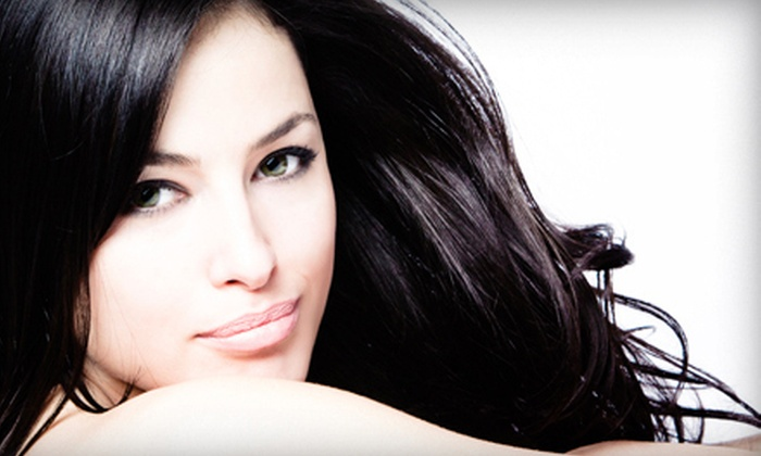NYLA Hair Studio - Gateway Plaza: Brazilian-Blowout Packages at NYLA Hair Studio (Up to 72% Off). Three Options Available.