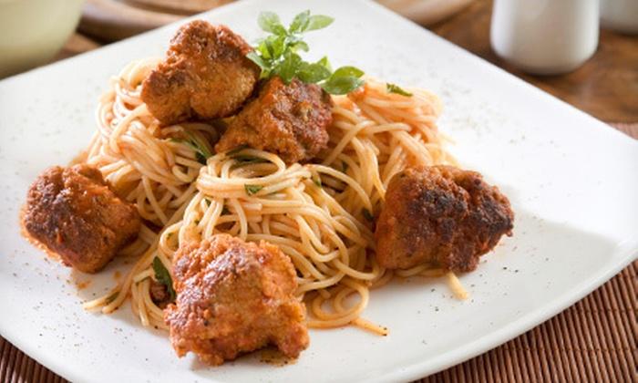 Luigi's Italian Restaurant - Centennial: Italian Cuisine at Luigi's Italian Restaurant (45% Off). Two Options Available.