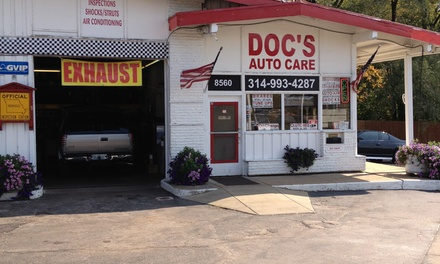 Up to 58% Off Basic Oil Change at Doc's Auto Care