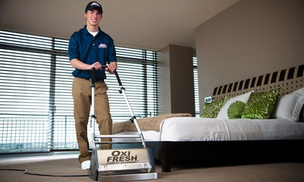 Carpet, Upholstery, or Tile and Grout Cleaning From Oxi Fresh (Up to 44% Off)