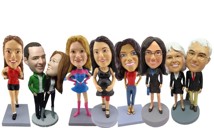AllBobbleHeads.com: Custom Bobbleheads and Other Novelties from AllBobbleheads.com (Up to 52% Off). Four Options Available.