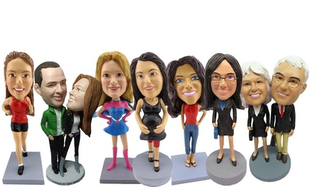 Custom Bobbleheads and Other Novelties from AllBobbleheads.com (Up to 52% Off). Four Options Available.