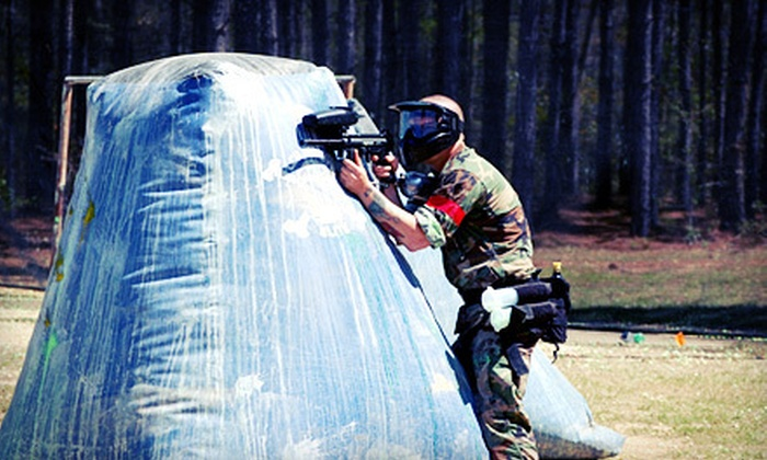 Low Country Paintball - Ludowici South: Four-Hour Paintball Session with Gear for Two, Four, or Eight at Low Country Paintball in Ludowici (Up to 59% Off)