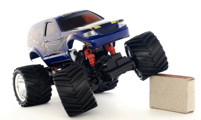Top Gear RC Raceway - Clackamas: RC Truck Racing Package for Two or Four at Top Gear RC Raceway (Up to 52% Off)