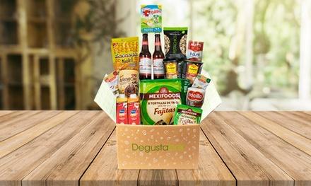 Lote Degustabox de entre 10 y 15 productos variados por 7,99 €