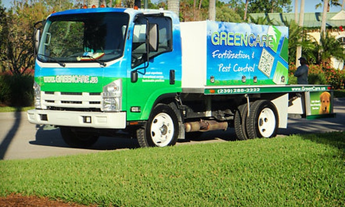 GreenCare - Naples: Landscape Fertilization and Pest Control for Up to 5,000, 10,000, or 15,000 Square Feet from GreenCare (Half Off)
