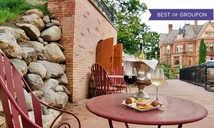 French Restaurant at the Henderson Castle: Wine Tasting and Architectural Tour for Two or Four at the Henderson Castle Winery (Up to 65% Off)