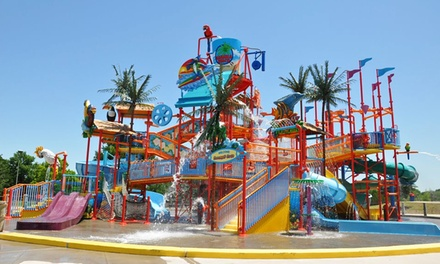 Water-Park Visit for Two, Four, or Six with Combo Meals at Bahama Beach Waterpark (Up to 52% Off)