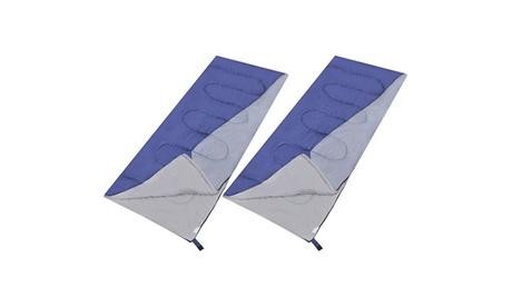 1 o 2 sacos de dormir rectangulares ligeros para una persona