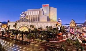 Harrah's Casino Resort on Las Vegas Strip with Dining Credit at Harrah's Las Vegas, plus 6.0% Cash Back from Ebates.