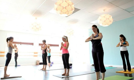 10 Yoga Classes or One Month of Unlimited Yoga at Pure Yoga (Up to 73% Off)