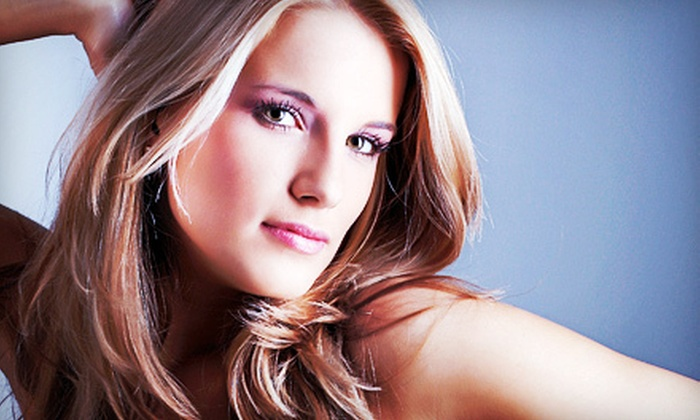 Paradigm Salon & Spa - Middletown: Haircut-and-Conditioning Package with Optional Color or Full Highlights at Paradigm Salon & Spa (Up to 65% Off)