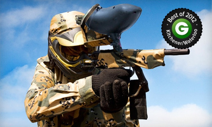 Flag Raiders - Kitchener: Indoor Paintball Package for Two or Four at Flag Raiders (Up to 59% Off)