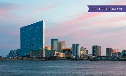1- or 2-Night Stay for Two with Dining Credit at Harrah's Resort Atlantic City in New Jersey. Check in Sunday–Wednesday.