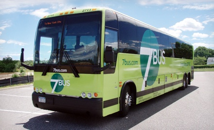 Round-Trip Bus Ride from Manhattan to Long Island from 7Bus (Up to 60% Off). Four Destinations Available.