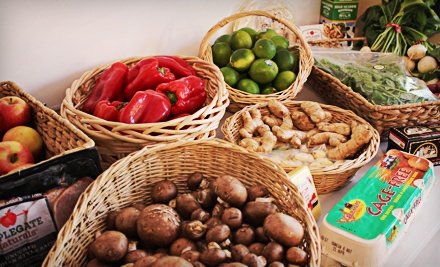 2013 and 2014 Organic Grocery Co-op Membership and Essentials Bag from Anner's Pantry (46% Off)