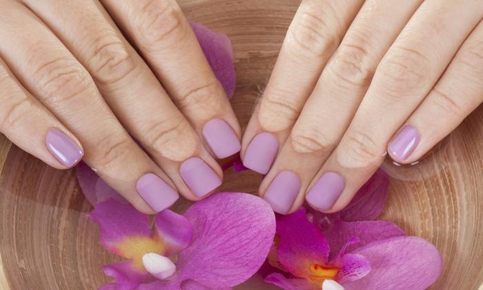 Organika Salon and Nail Spa - Coral Terrace: Up to 61% Off mani-pedis at Organika Salon and Nail Spa