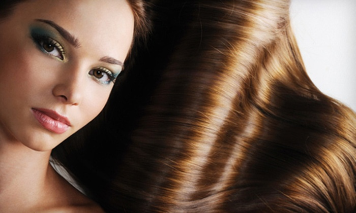 By Faith Studio Hair - Terra Hills: Women's Haircut Package with Options for Full or Partial Highlights at By Faith Studio Hair in Live Oak (Up to 72% Off)