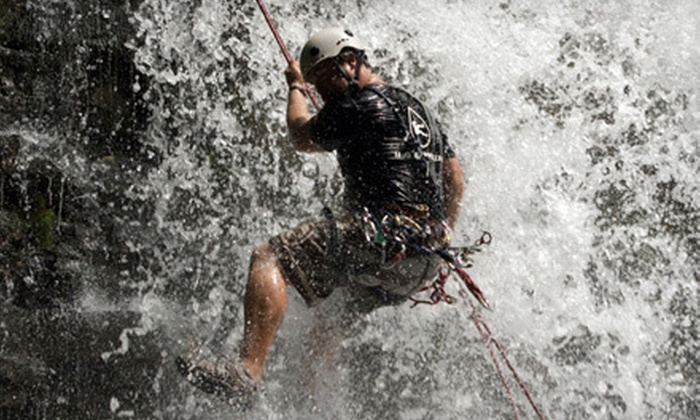H2O Rappelling - St Catharines-Niagara: Waterfall-Rappelling Experience for One from H2O Rappelling ($150 Value)