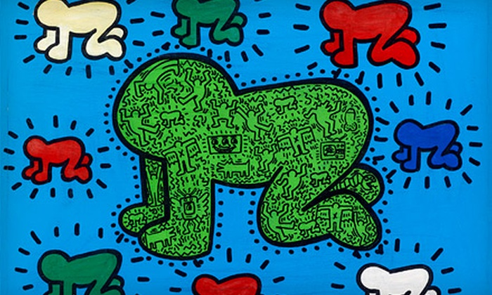 A Celebration of the Life & Art of Keith Haring - Little Haiti: One-Day Access or VIP Opening-Night Party and Multiday Access to Keith Haring Exhibit at Moore Building (Up to 60% Off)