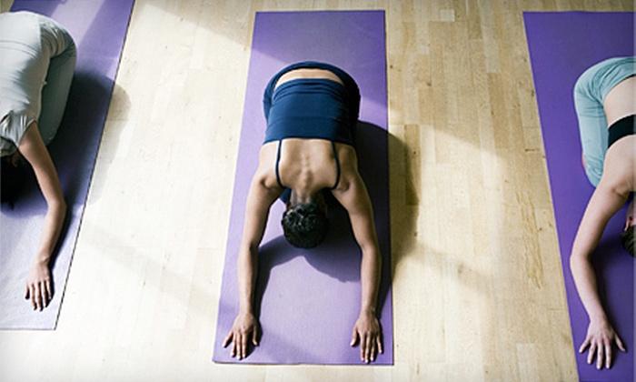 Bikram Yoga Hudson - Hudson: 10 or 15 Hot Yoga Classes with Mat Rental at Bikram Yoga Hudson (Up to 82% Off)
