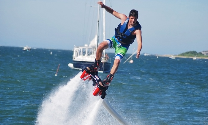 Flyboard Nantucket - Children's Beach: One 25-Minute Flyboard Flight for One, Two, Four, or Six at Flyboard Nantucket (23% Off)