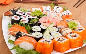 SUSHI HANAKI VICHY: 1 plateau de 42 pièces de sushis à 24,90 € au restaurant Sushi Hanaki