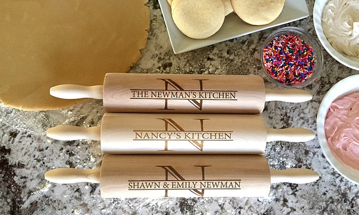 American Laser Crafts: One or Two Personalized Rolling Pins from American Laser Crafts