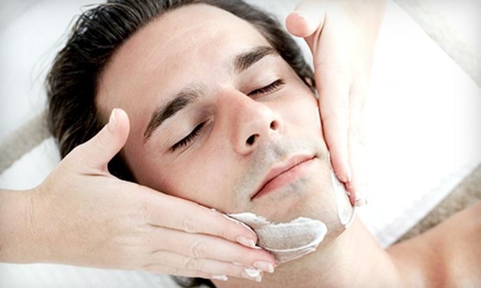 Skin Deep Spa - Ward 2: One or Three Men's Facials at Skin Deep Spa (Up to 61% Off)