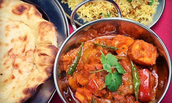 Taj Mahal Restaurant - Bloomingdale: $12 for $25 Worth of Indian Cuisine Sunday–Thursday at Taj Mahal Restaurant