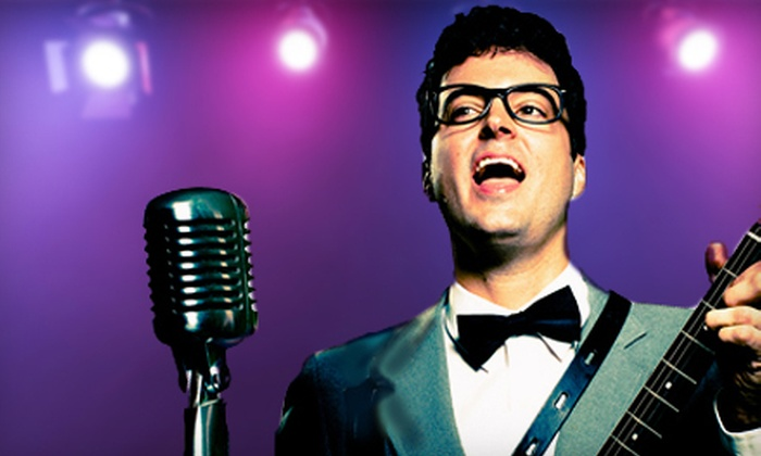 "Buddy: The Buddy Holly Story - Cameo Theatre: $36 for ""Buddy: The Buddy Holly Story"" Performance for Two at Cameo Theatre (Up to $72 Value). Six Showtimes Available."