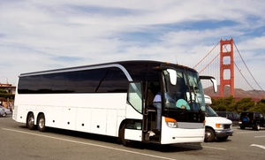 The Money Bus: Full-Day Casino Shuttle Passes for Two or Five from The Money Bus Casino Hopper(Up to 62% Off)