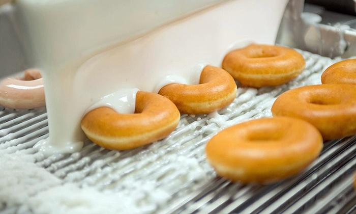 Krispy Kreme - Multiple Locations: $10 for Two Dozen Original Glazed Doughnuts at Krispy Kreme ($19.98 Value)