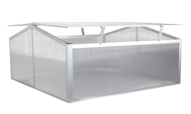 Serre de jardin groupon shopping - Mini serre polycarbonate ...