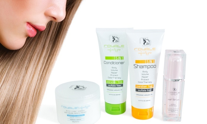 Up To 85% Off on Royale Hair Care Set | Groupon Goods