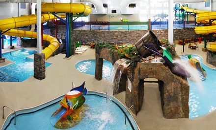 groupon daily deal - 1- or 2-Night Stay for Four or Six with Optional Family Package at Castle Rock Resort & Waterpark in Branson, MO