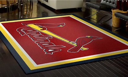 "2'8""x3'10"" Sports Rug or 3'10""x5'4"" Sports Rug from My Sports Rug (Up to 51% Off)"