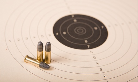 Shooting-Range Package or Simulator Visits at The Sportsman's Lodge and Morris Firearms (40% Off)