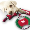 Bow-Wow Pet Holiday Dog Toy Gift Sets (3-Piece)