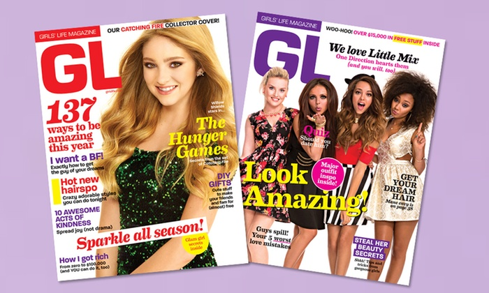 Girls' Life Magazine Subscription: 1- or 2-Year Subscription to Girls' Life Magazine