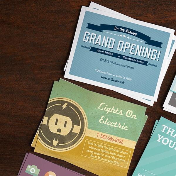 Custom Postcards From Vistaprint Groupon Goods
