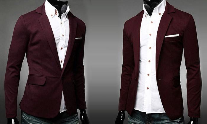Blazer Veste Veste Blazer Shopping Homme Shopping Blazer Groupon Groupon Homme Veste 4w7g04