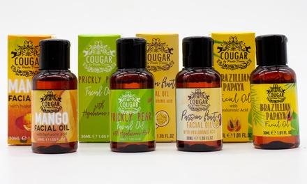 Lot de 4 huiles fruitées pour le visage