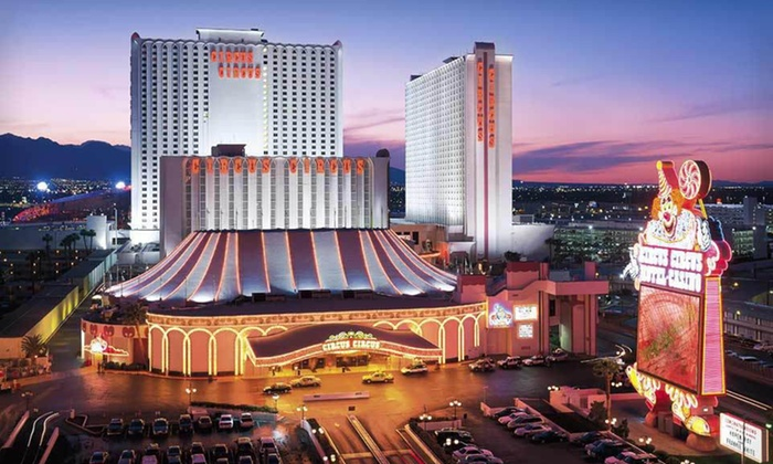 Circus Circus Hotel and Casino - Las Vegas: Two-Night Stay in West Tower Room and Dining Credit at Circus Circus Hotel and Casino in Las Vegas. Valid for Sunday–Wednesday Check-In.