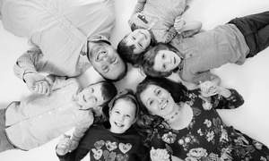Maria Barry Photography Limited: Family Photoshoot With Three Prints or Photo Calendar for £9 at Maria Barry Photography (91% Off)