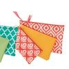 Spring Fling 3-Piece Cosmetic Bag Set